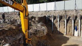 Първа копка на жилищна сграда от строителна фирма Имеа Груп
