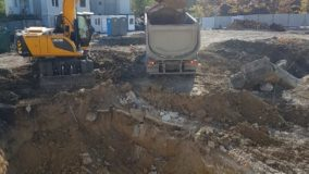Първа копка на жилищна сграда от строителна компания Имеа Груп