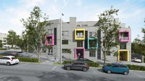 Жилищна сграда Варна Colour Code