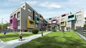 Строителство на високотехнологична жилищна сграда Варна