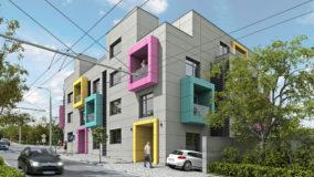 високотехнологична жилищна сграда от строителна компания Imea Group