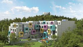 Строителство на високотехнологична жилищна сграда от строителна компания Imea Group Варна