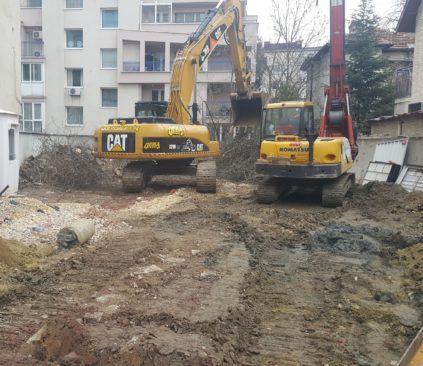 Стартира строителството на нова жилищна сграда в София