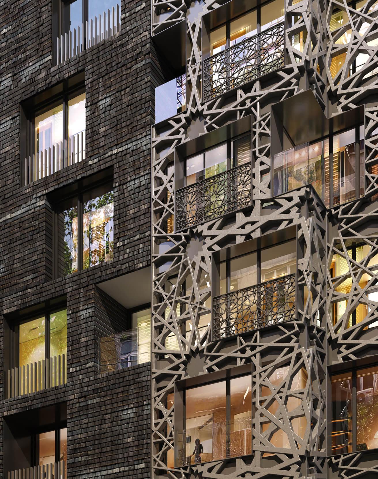 Изграждане на жилищна сграда от строителна фирма Имеа Груп