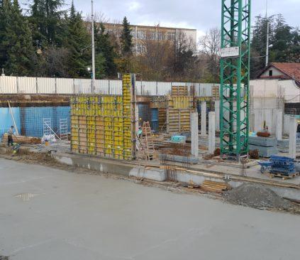 Новина 04.12.2017 – Напредък Жилищна сграда Colour Code – Варна