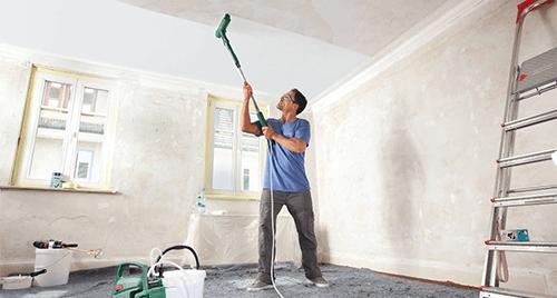 Ремонтни дейности - боядисване