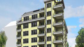 Строителство на Многофамилна жилищна сграда с подземен паркинг