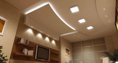 Ремонтни дейности - монтаж на окачени тавани