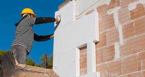 Ремонтни дейности - полагане на топлоизолация