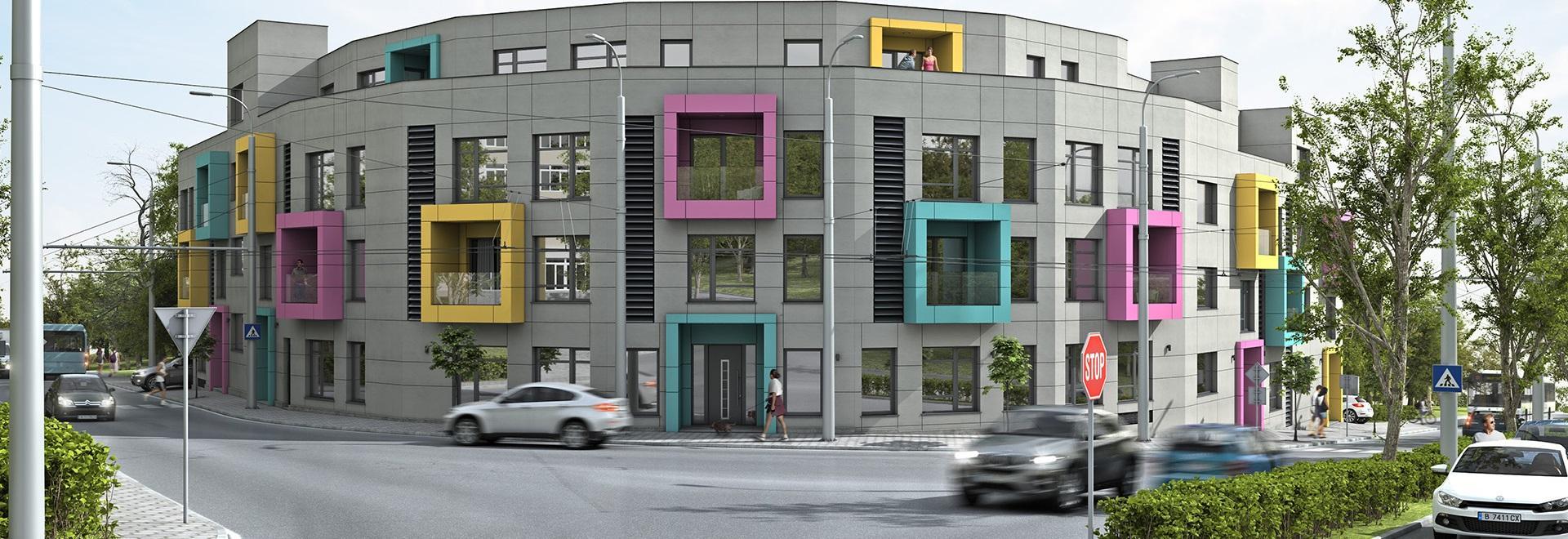 Жилищна сграда - строителство от строителна компания Imea Group