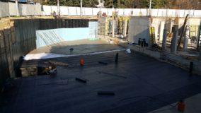 Изпълнение на хидроизолационни работи на обект Варна