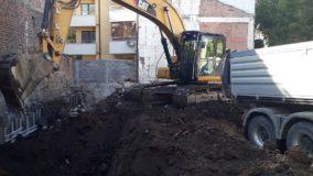 Първа копка на жилищна сграда – широк център, гр. София