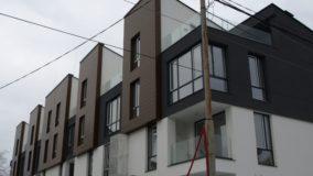 Изпълнение на вентилируеми фасади от ламаринена обшивка
