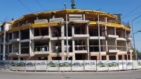 Последна плоча на жилищна сграда Colour code, гр. Варна