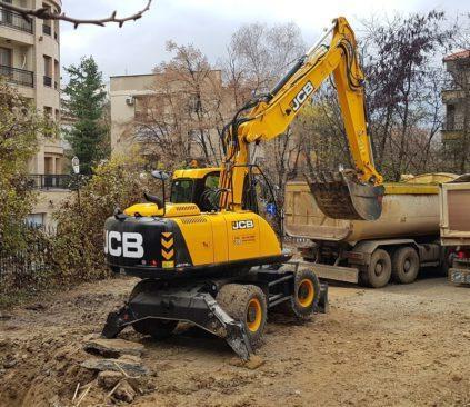 Първа копка на обект Офис сграда в кв. Лозенец, гр. София