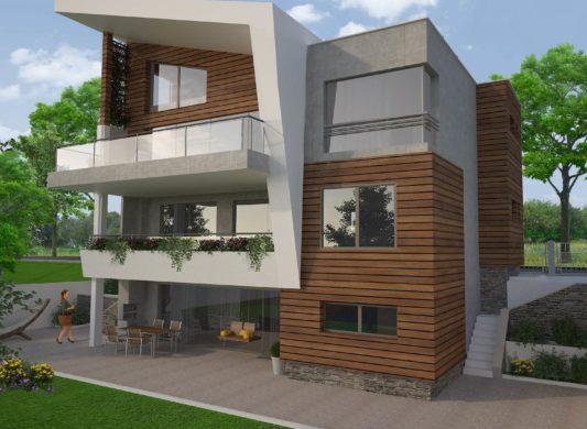 Еднофамилна жилищна сграда м. Траката, гр. Варна