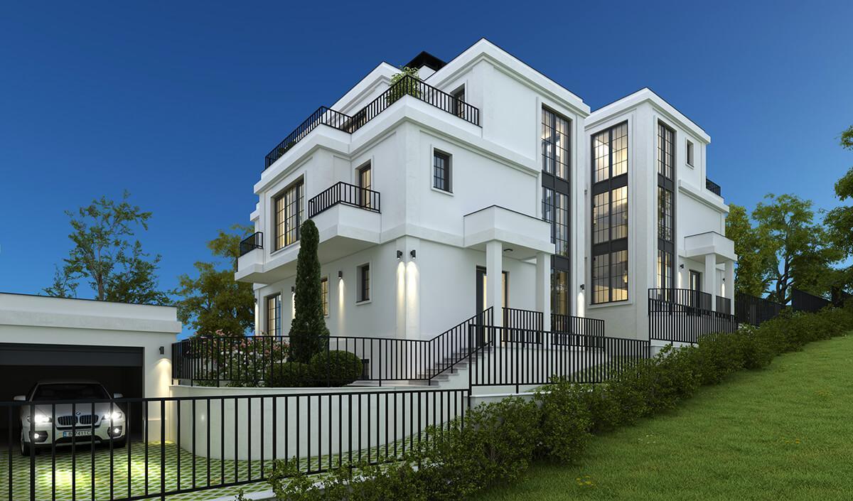 Жилищна сграда № 1 - Vitosha Side