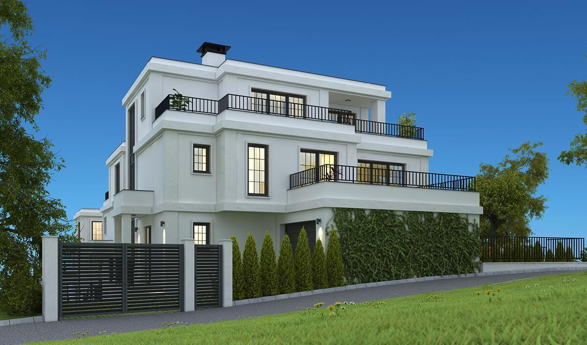 Жилищна сграда № 3 - Vitosha Side