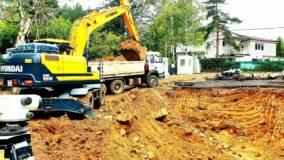 Изкопни дейности на къща №2 - Vitosha Side