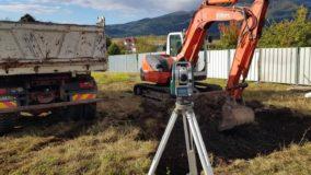 Изкопни дейности на еднофамилна жилищна сграда в с. Бистрица